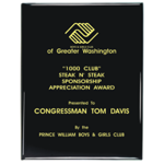Personalized Corporate Award Plaques