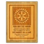 Natural Wood Award Plaques