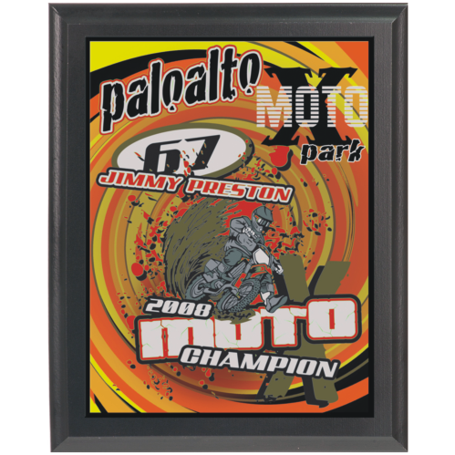 8X10 Full Color Award Plaque