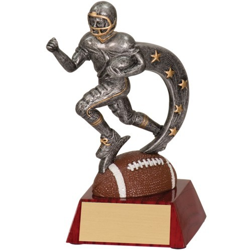 Action Star Resin Football
