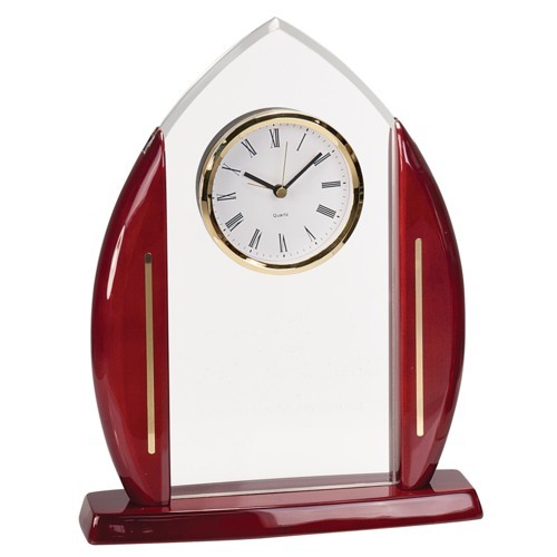Arch Cathedral Acrylic Clock