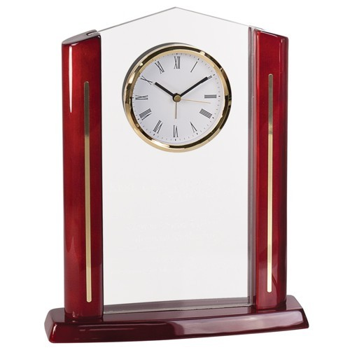 Rectangle Cathedral Acrylic Clock