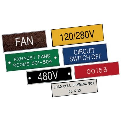 Engraved Electrical Panel Labels