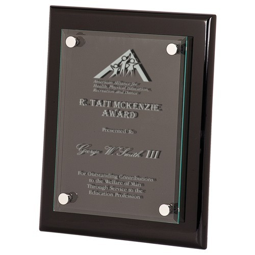 11X13 Black Acrylic Award Plaque