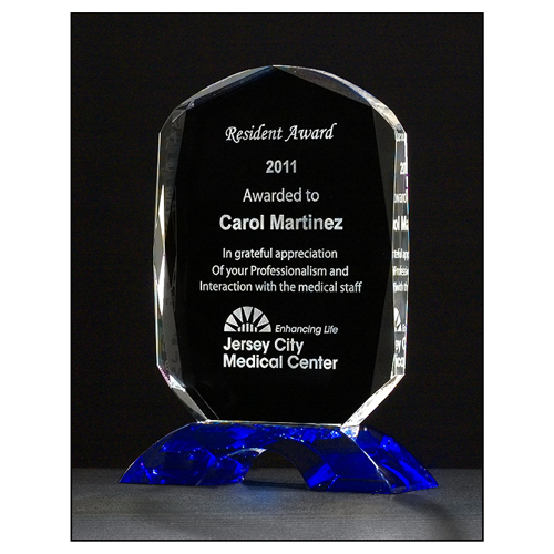 Diamond Series Crystal Award