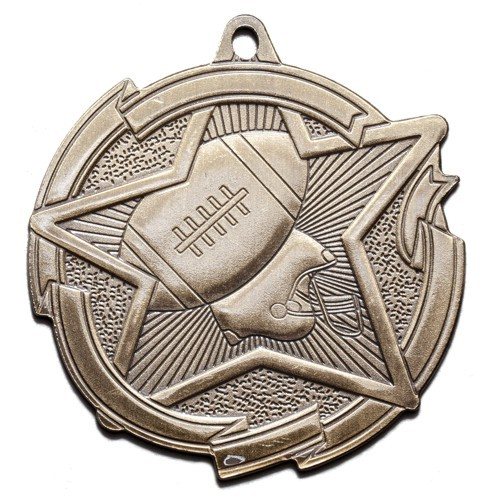 Star Series Football Medal