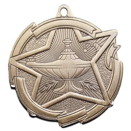 Star Series Lamp of Knowledge Medal