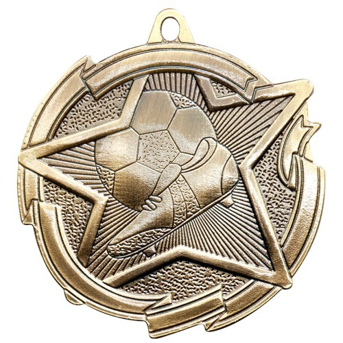Star Series Soccer Medal