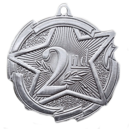 Star Series Second Place Medal