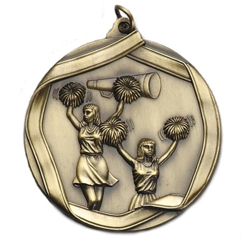 Ribbon Series Cheer Medal