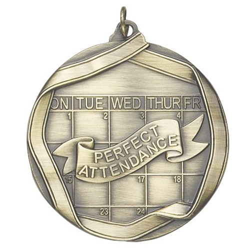 Ribbon Series Perfect Attendance Medal