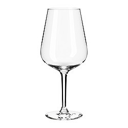 Personalized Red Wine Glasses - Pack of 5