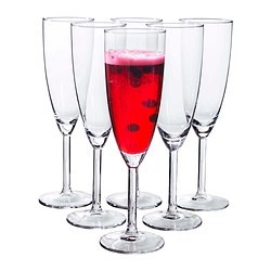 Personalized Champagne Flutes - Pack of 5