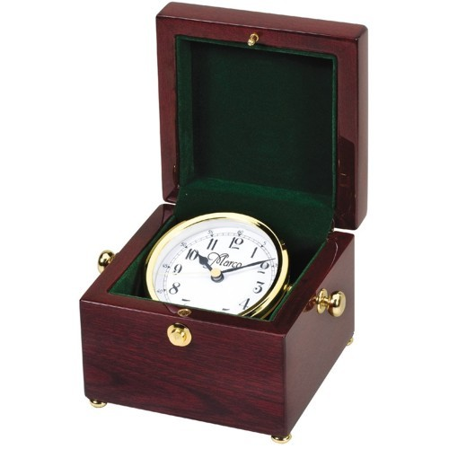 Rosewood Box Clock