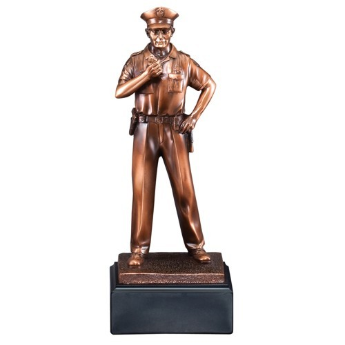 Policeman Statue Resin