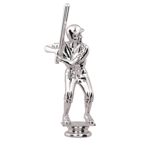 Silver Male Batter Topper