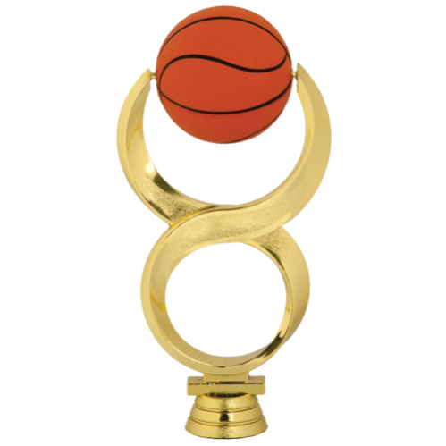 Soft Infinity Basketball Topper