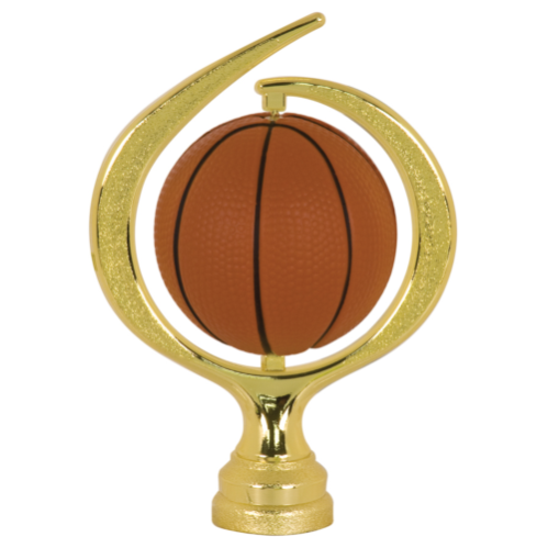 Large Swirl Soft Basketball Spinner