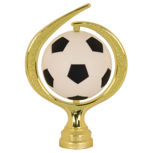 Large Swirl Soft Soccer Spinner