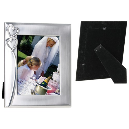 Two Hearts Picture Frame