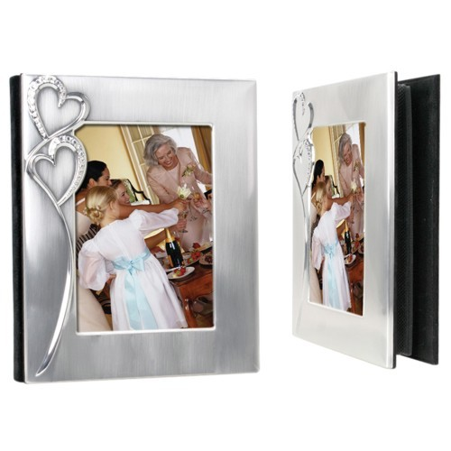 Two Hearts 5x7 Photo Album