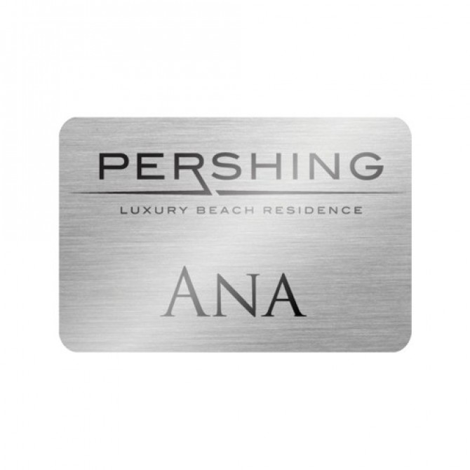 Rectangle Metal Name Badge