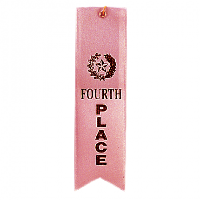 Fourth Place Ribbon