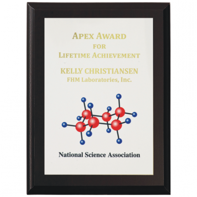 12X15 Full Color Award Plaque