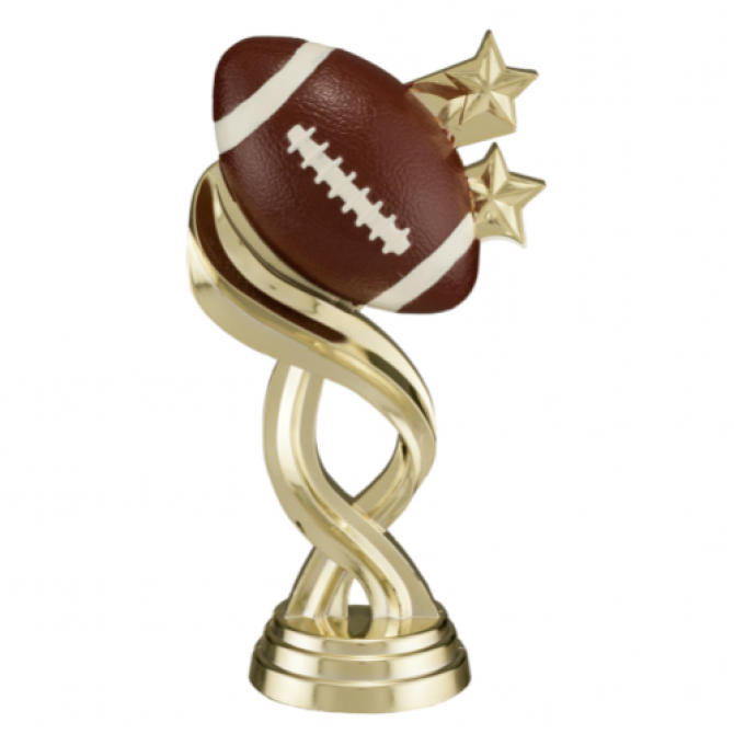 Football with Twisted Stars Full color