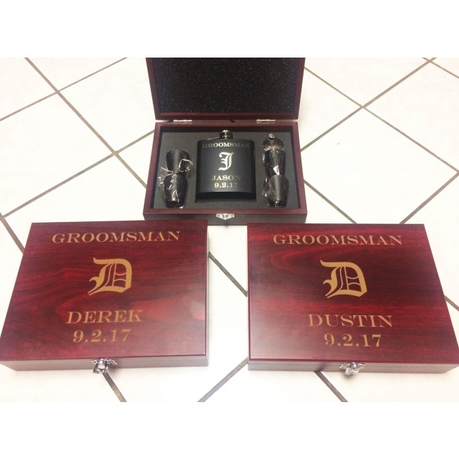 Personalized Flask Set | PWFSK12