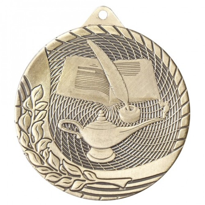 Modern Series Lamp of Knowledge Medal