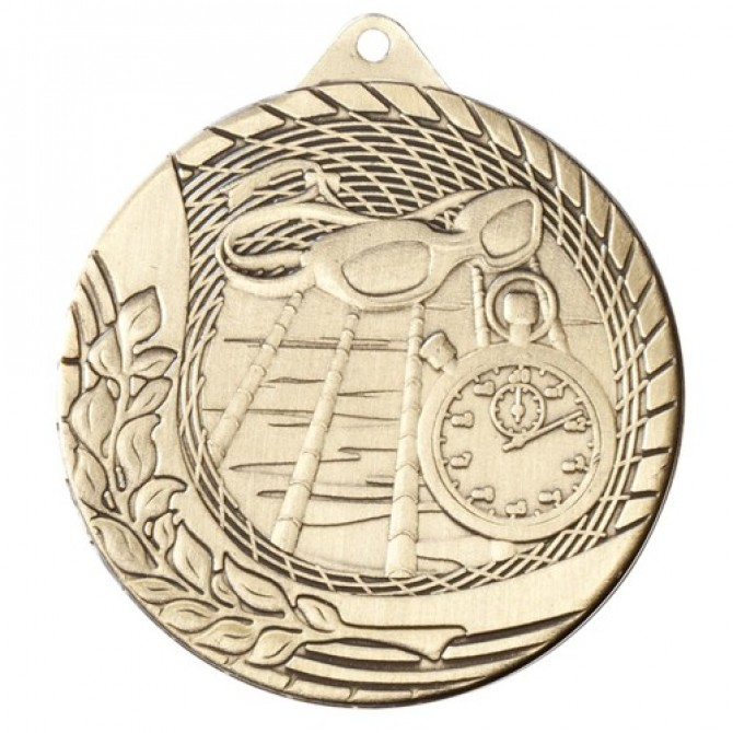 Modern Series Swimming Medal