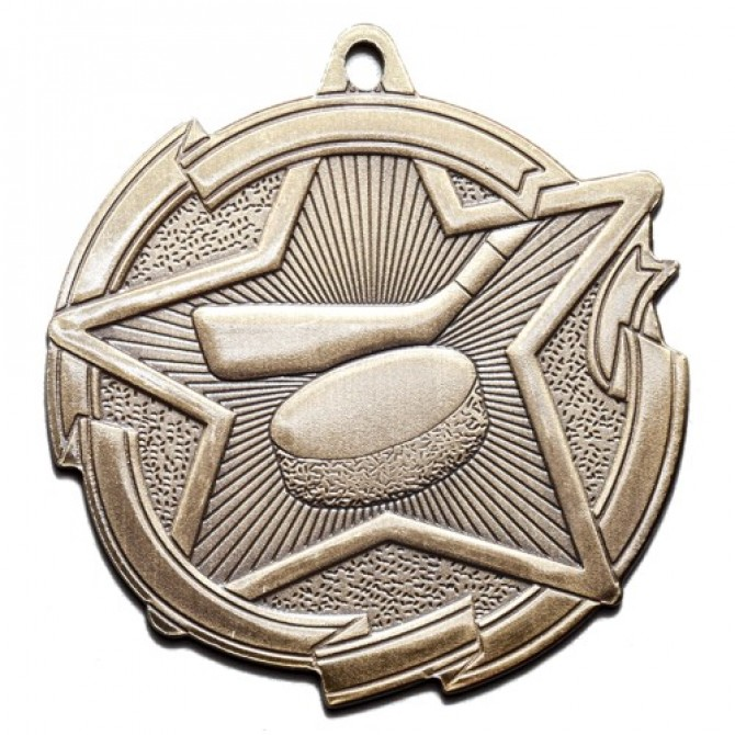 Star Series Hockey Medal