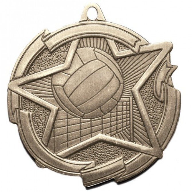 Star Series Volleyball Medal