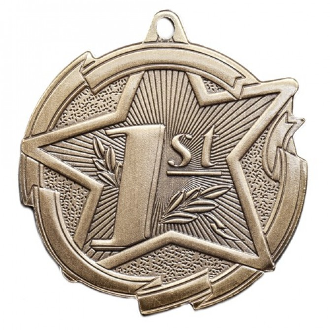 Star Series First Place Medal