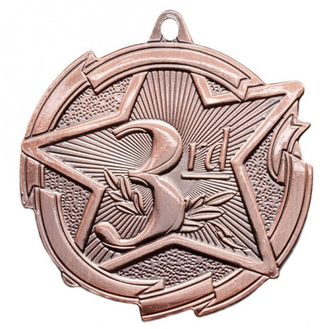 Star Series Third Place Medal