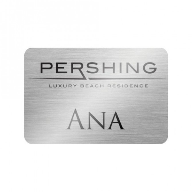 Engraved Plastic Name Plate