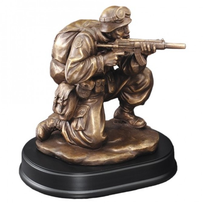 Soldier in Combat Resin