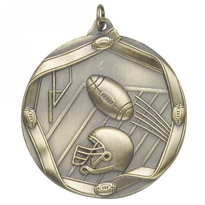 Ribbon Series Football Medal