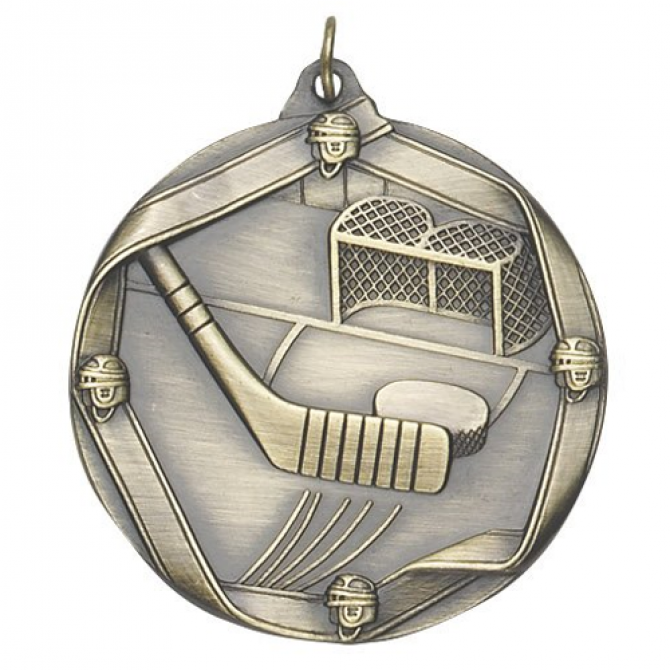 Ribbon Series Hockey Medal