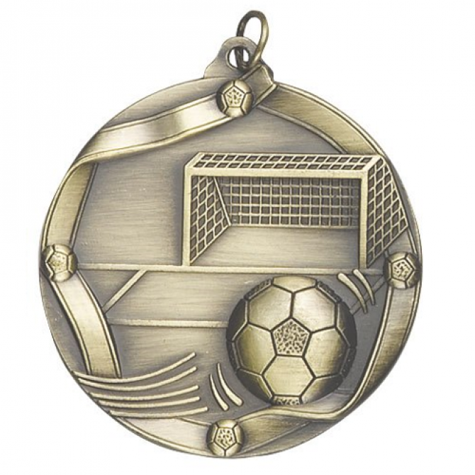 Ribbon Series Soccer Medal