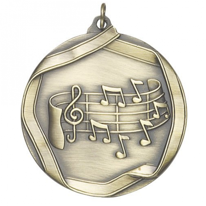 Ribbon Series Music Medal