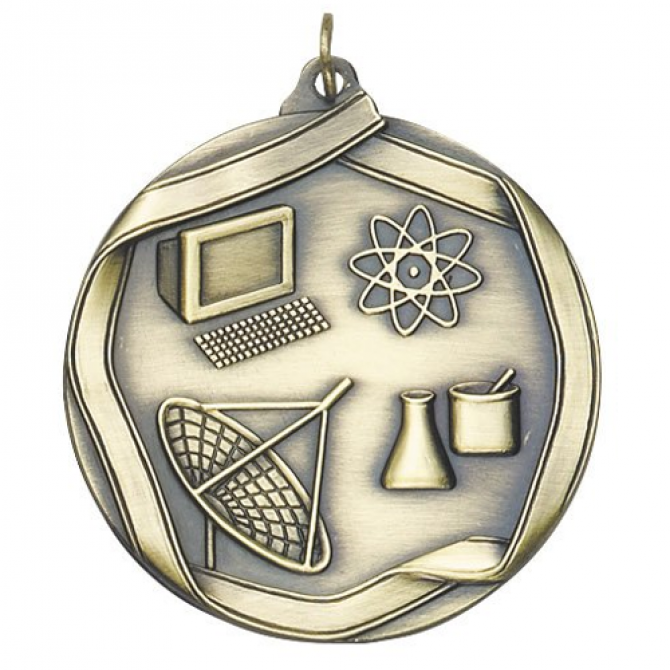 Ribbon Series Science Medal