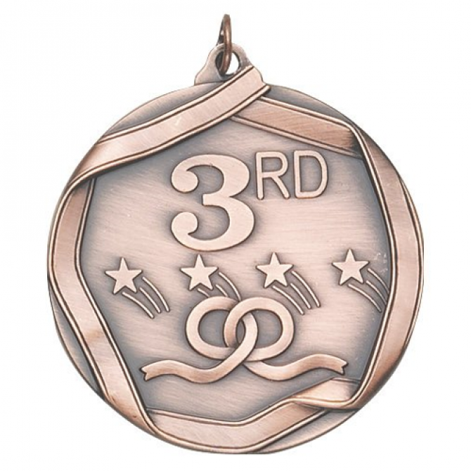Ribbon Series Third Place Medal