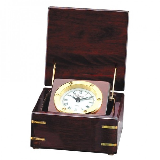 Rosewood Chest Clock