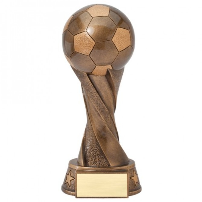 Bronze Spiral Soccer Ball