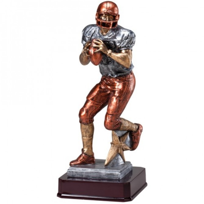 Full Color Football Quarterback
