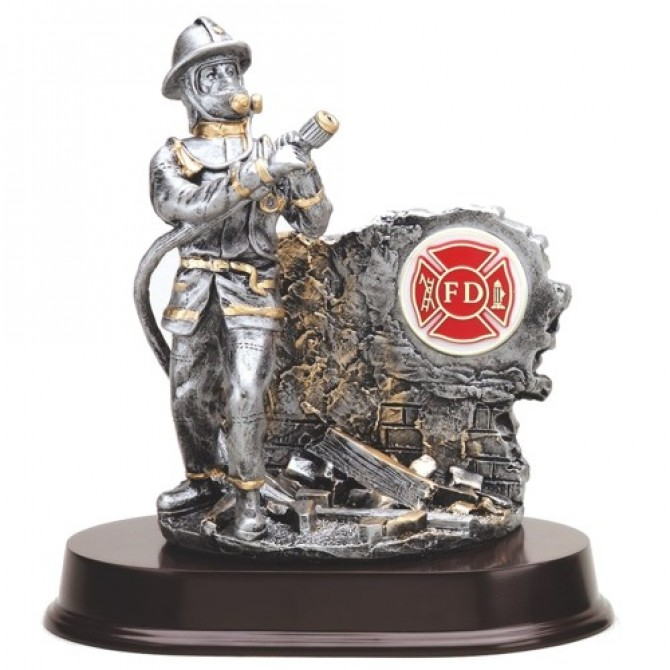 Firefighter Action Resin