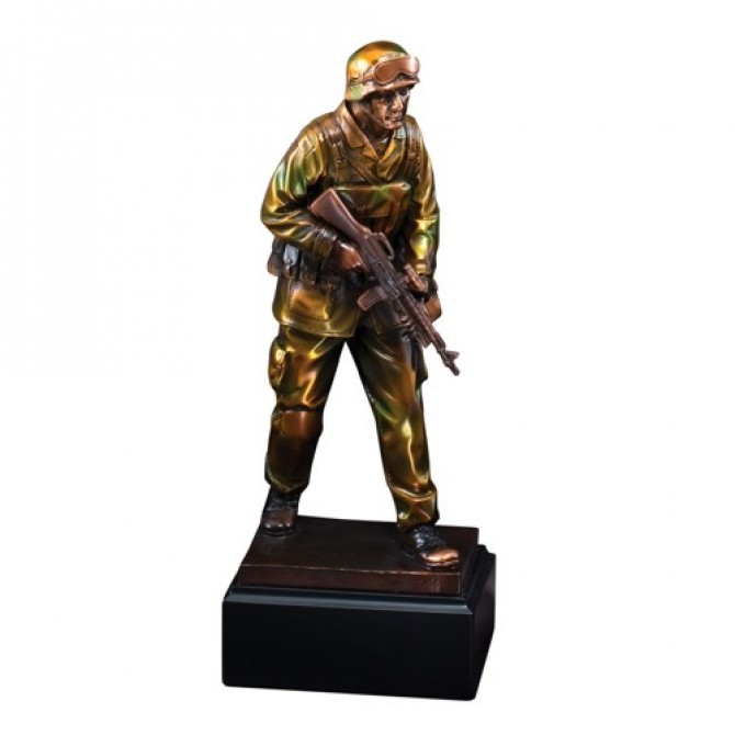 Soldier Statue Resin