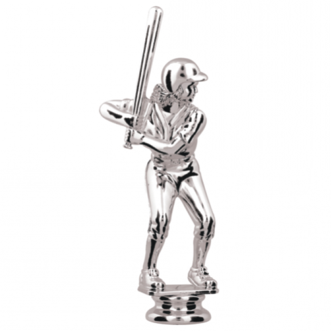 Silver Female Batter Topper